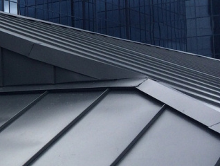 Metal standing seam roofing