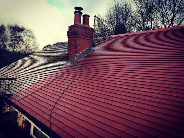 Clay Rosemary Tile Private Re-Roof